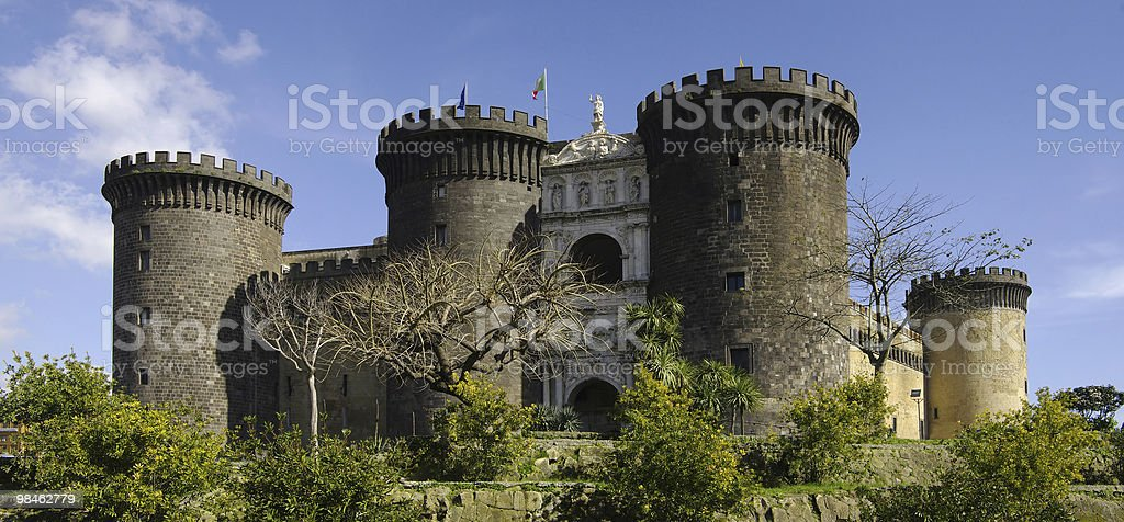 Castel Nuovo. Naples, Italy. royalty-free stock photo