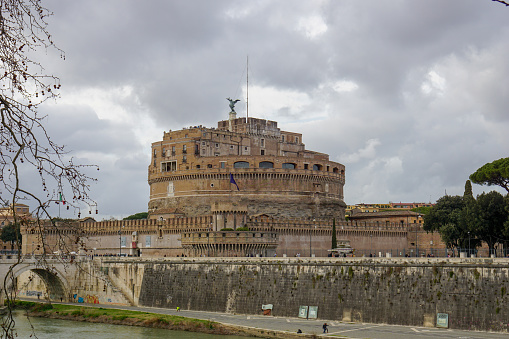 Photo of Castel Sant'Angelo National Museum .Spring 2017. 02.03.2017