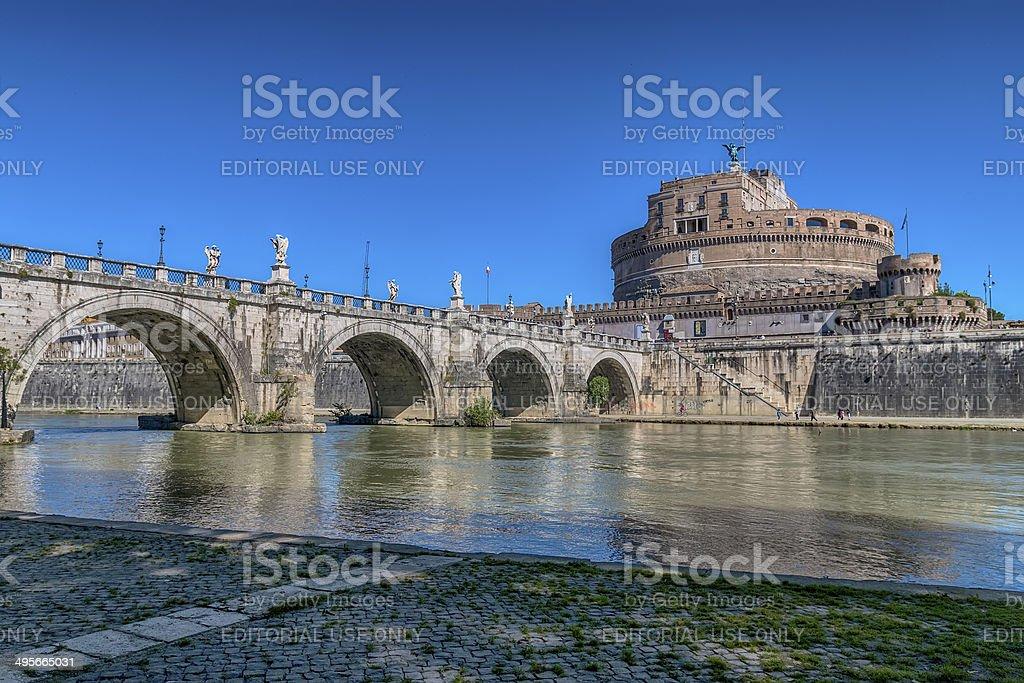 Castel Sant'Angelo royalty-free stock photo