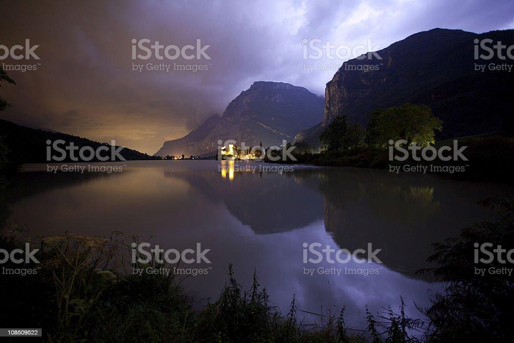 Castel Toblino in Trentino Alto Adige, Italy royalty-free stock photo