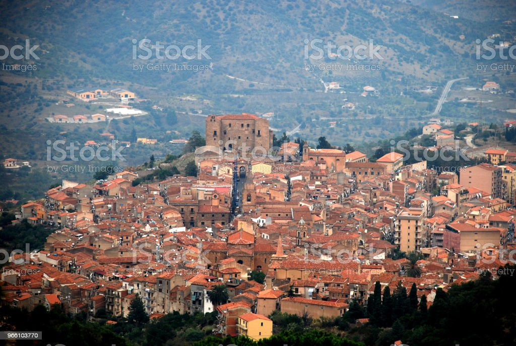 Castelbuono - Royalty-free Architecture Stock Photo