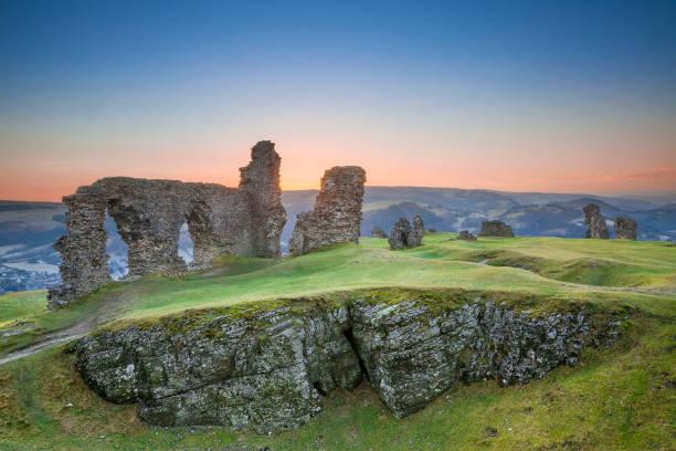 Castell Dinas Bran, Crow Castle,  Llangollen