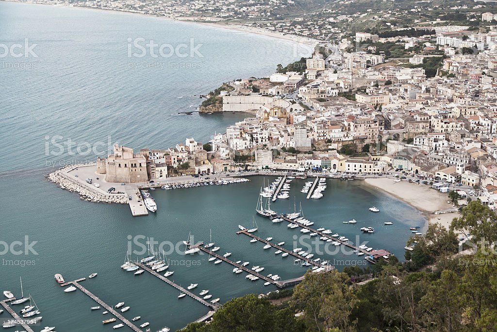 Castellammare Del Golfo stock photo