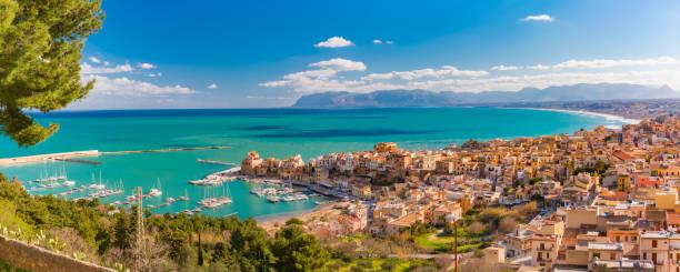 Castellammare del Golfo, Sicily, Italy stock photo