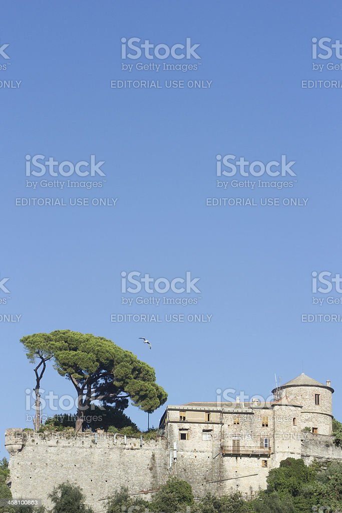 Castello Brown in Portofino, Italy royalty-free stock photo