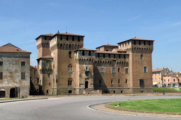 Castello San Giorgio in Mantua, Italy stock photo
