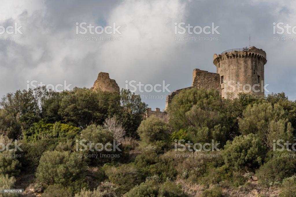 Castelnuovo in Cilento, Italy stock photo