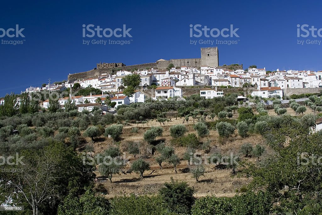Castelo de Vide - Royalty-free Aldeia Foto de stock