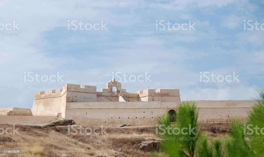 Castelo São Sebastião in Portugal royalty-free stock photo