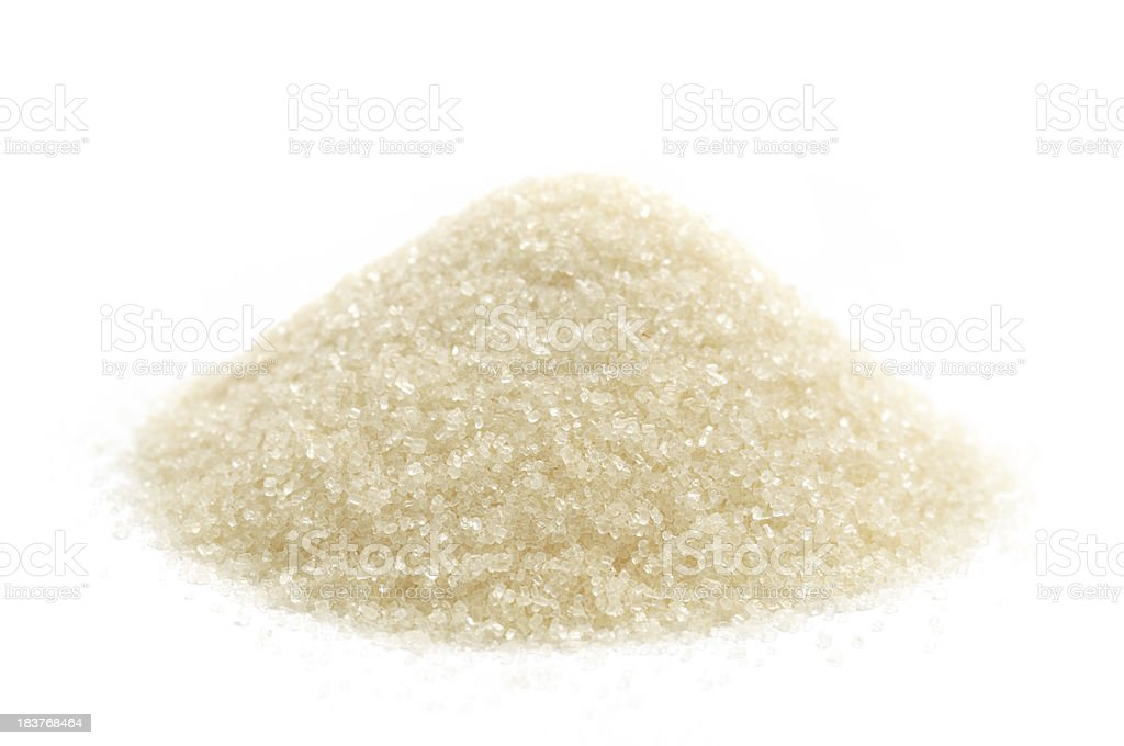 Caster Cane Sugar stock photo