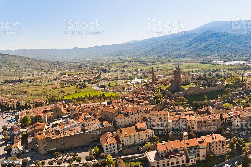 Castiglion Fiorentino in Tuscany - Italy - foto stock
