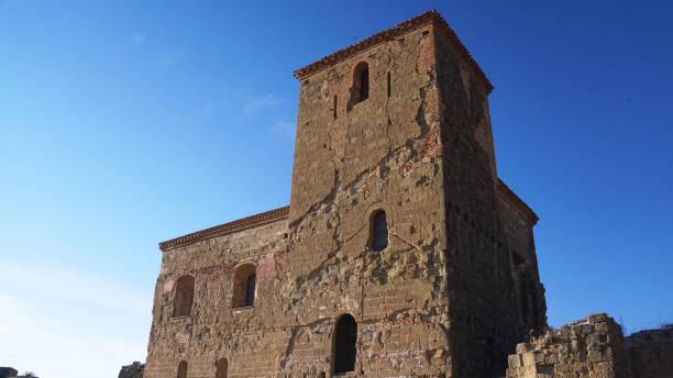 Castillo de Montearagon 2 stock photo
