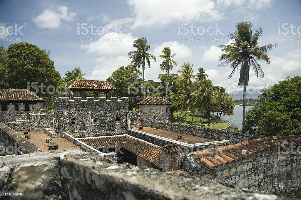 Castillo de San Felipe royalty-free stock photo