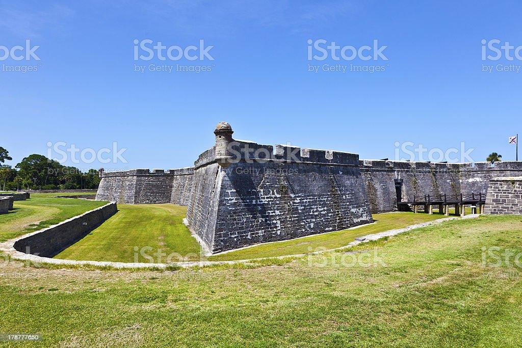 Castillo De San Marco stock photo 178777650   iStock