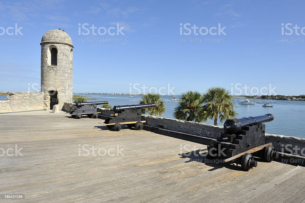 Castillo De San Marcos National Monument, St. Augustine, Florida stock photo