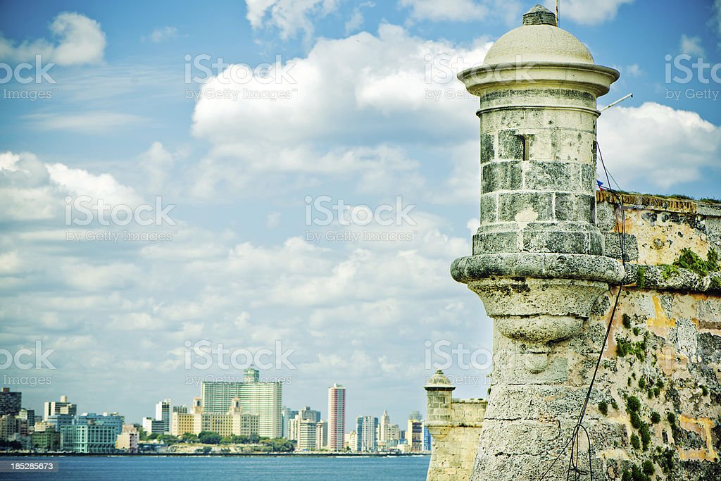 Castillo del Morro, Havana, Cuba royalty-free stock photo