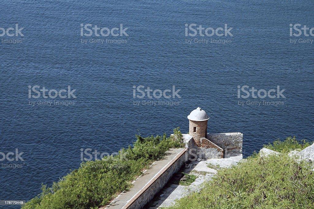 Castillo del Morro royalty-free stock photo