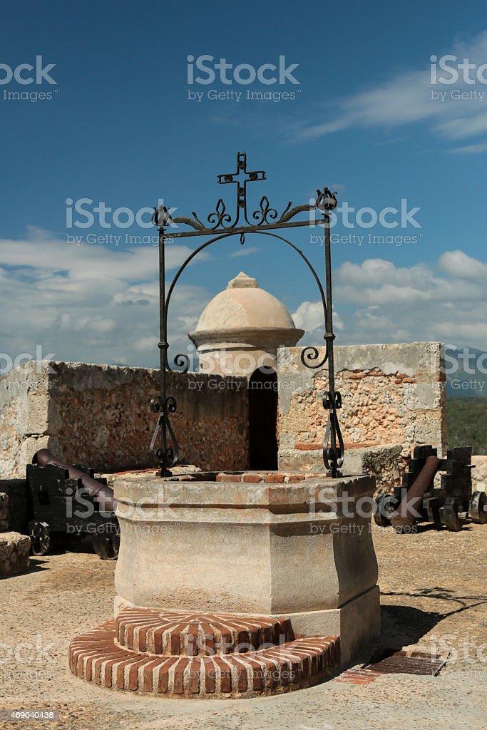 Castillo del Morro - well stock photo