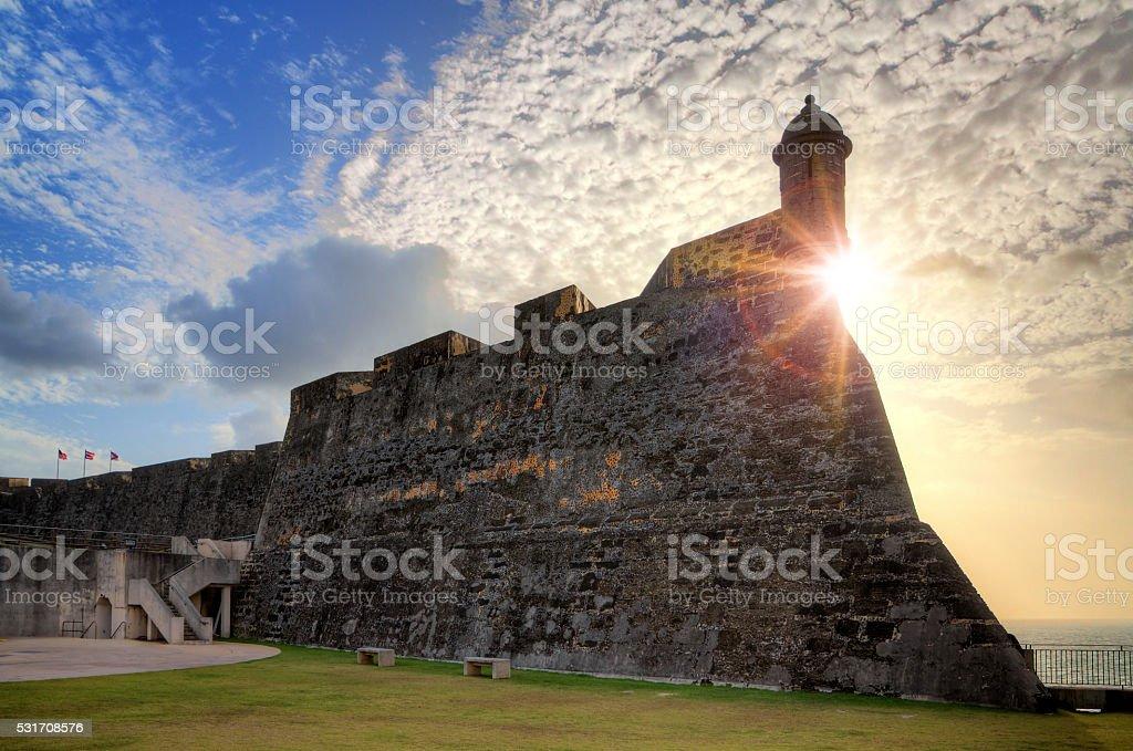 Castillo San Cristobal stock photo