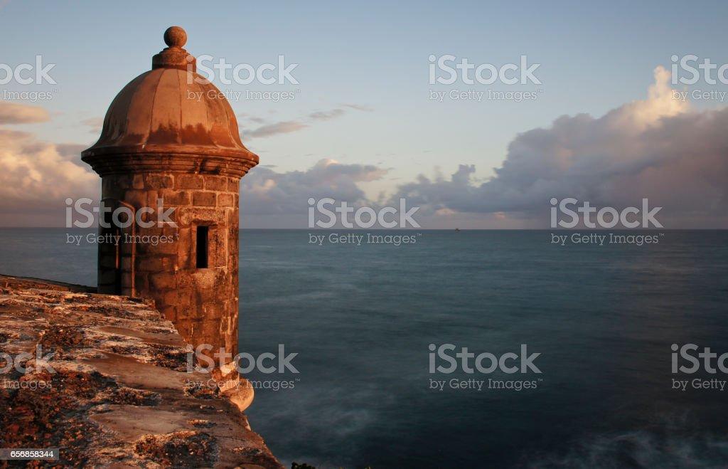 Castillo San Felipe del Morro en San Juan Puerto Rico - foto de stock