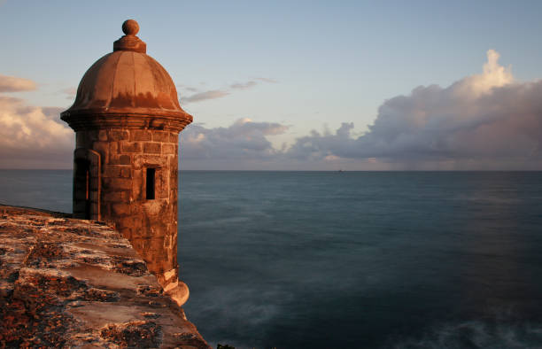 Castillo San Felipe del Morro in San Juan Puerto Rico stock photo