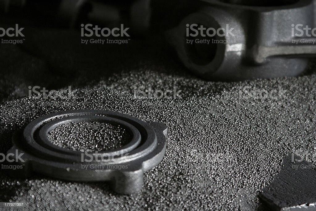 casting industry stock photo