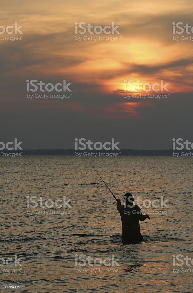 Casting royalty-free stock photo