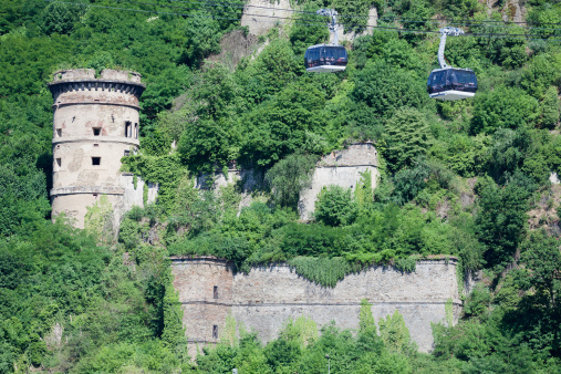 Castle and Cable Car