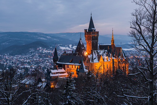 Castle and the City of Wernigerode