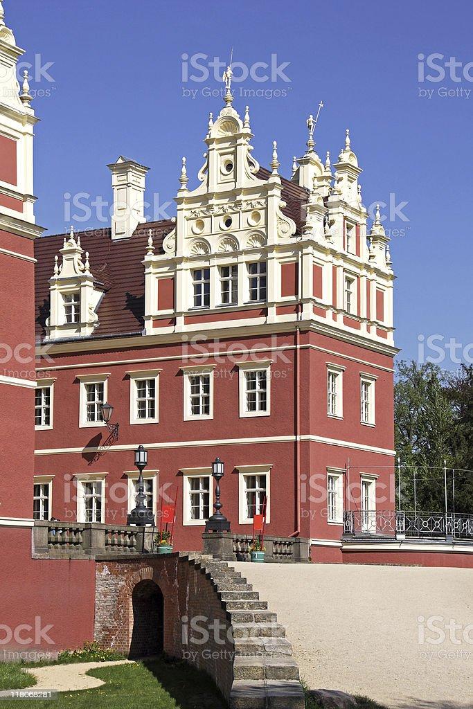 Castle Bad Muskau stock photo