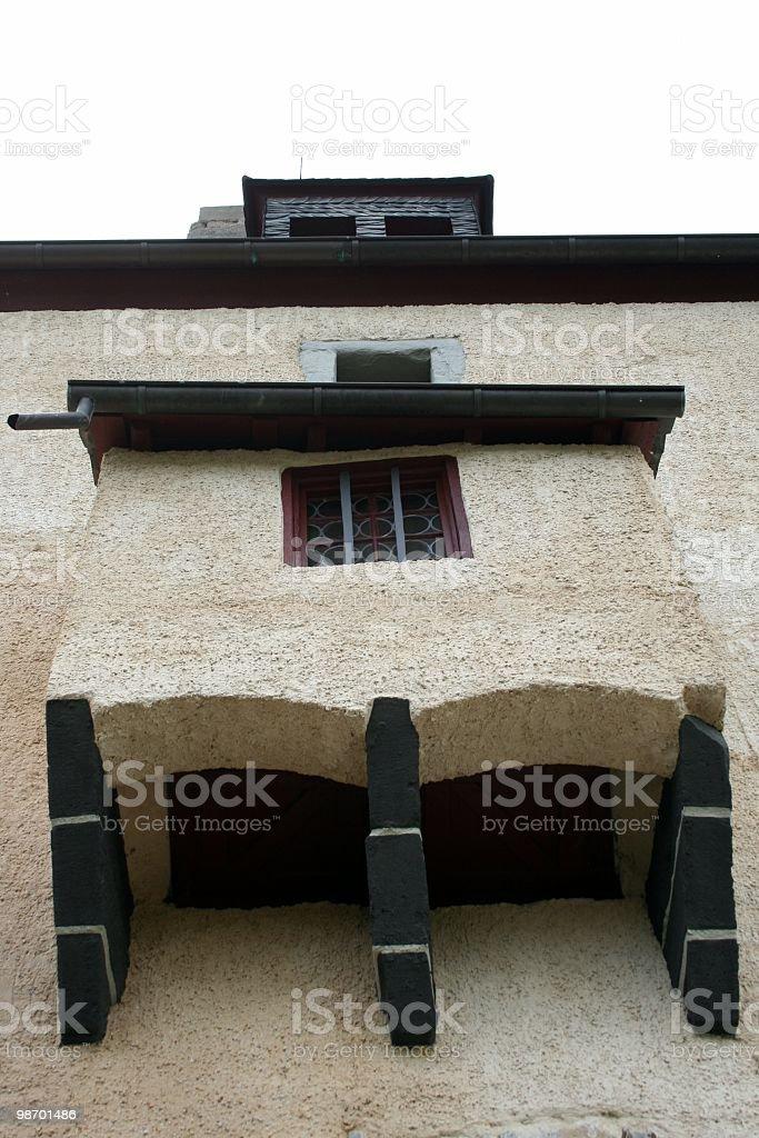 Castle Balcony royalty-free stock photo