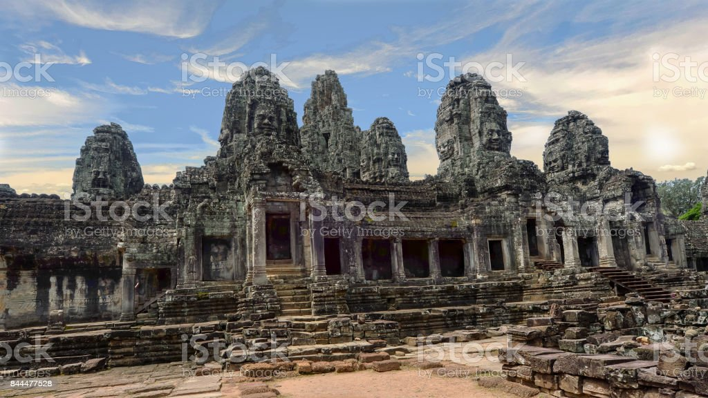 Castle Bayon stock photo