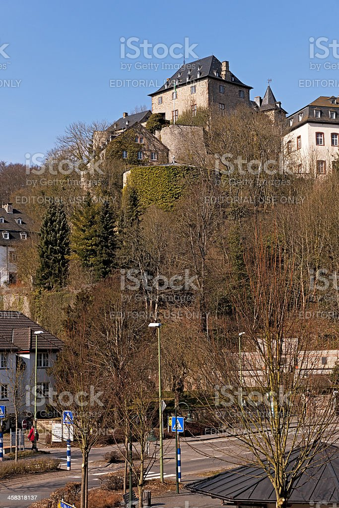 Castle Blankenheim royalty-free stock photo