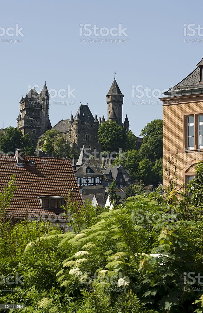 Castle Braunfels stock photo