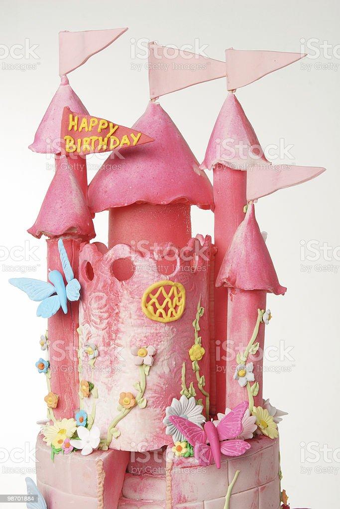 Castello di torta foto stock royalty-free