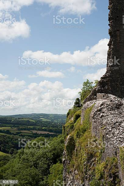 Castle Cliff  Abandoned Stock Photo