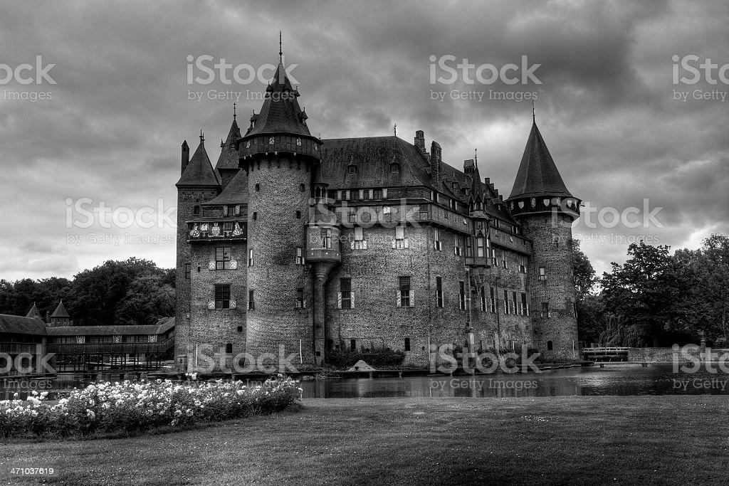 Castle De Haar - Haarzuilens royalty-free stock photo