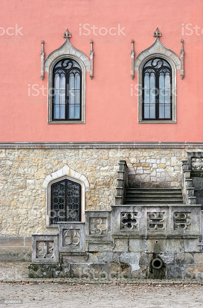 castle detail royalty-free stock photo
