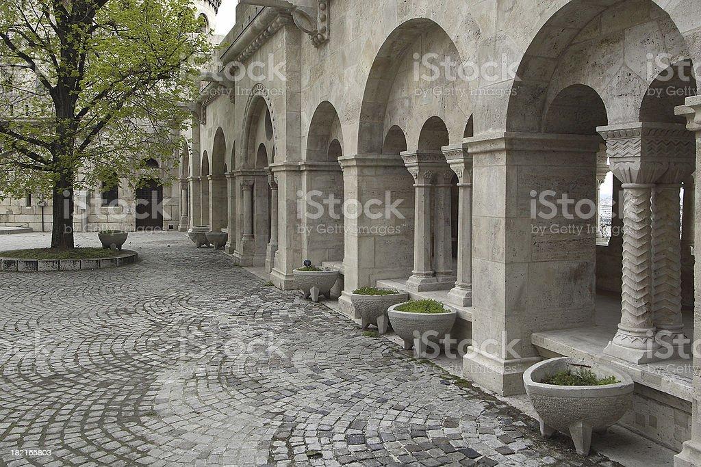 Castle District, Budapest stock photo