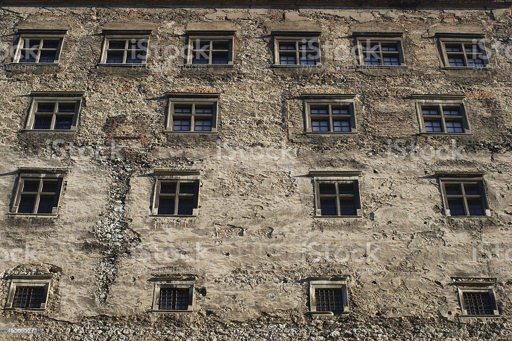 Castle Pieskowa Skała stock photo