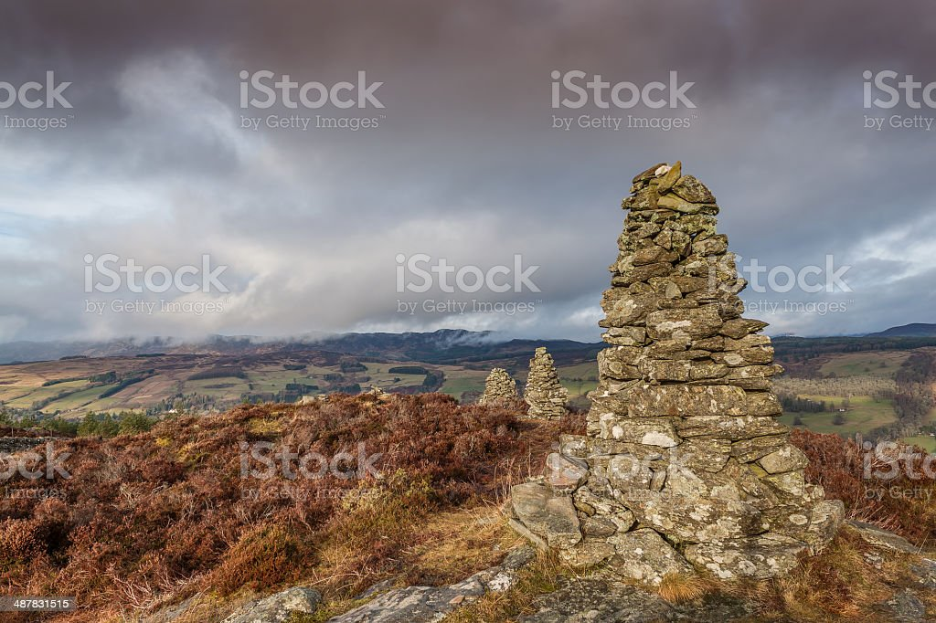 Castle Dow stock photo