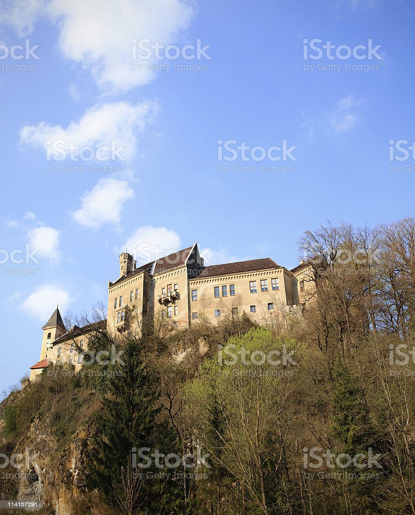 Castle Eberstein royalty-free stock photo