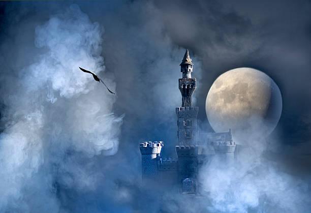 castelo fantasy - castelo - fotografias e filmes do acervo