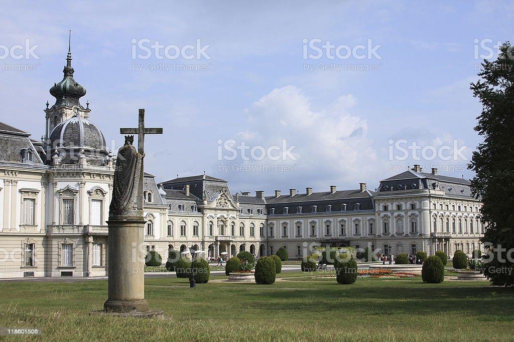 Castle Festetics inHungary stock photo