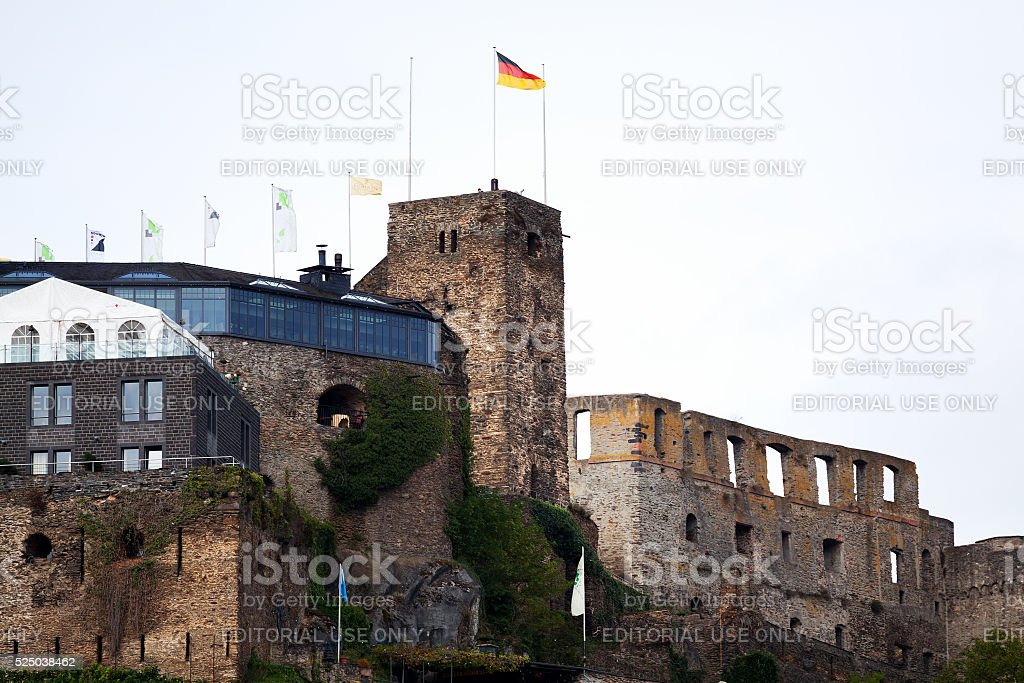 Castle Festung Rheinfels stock photo
