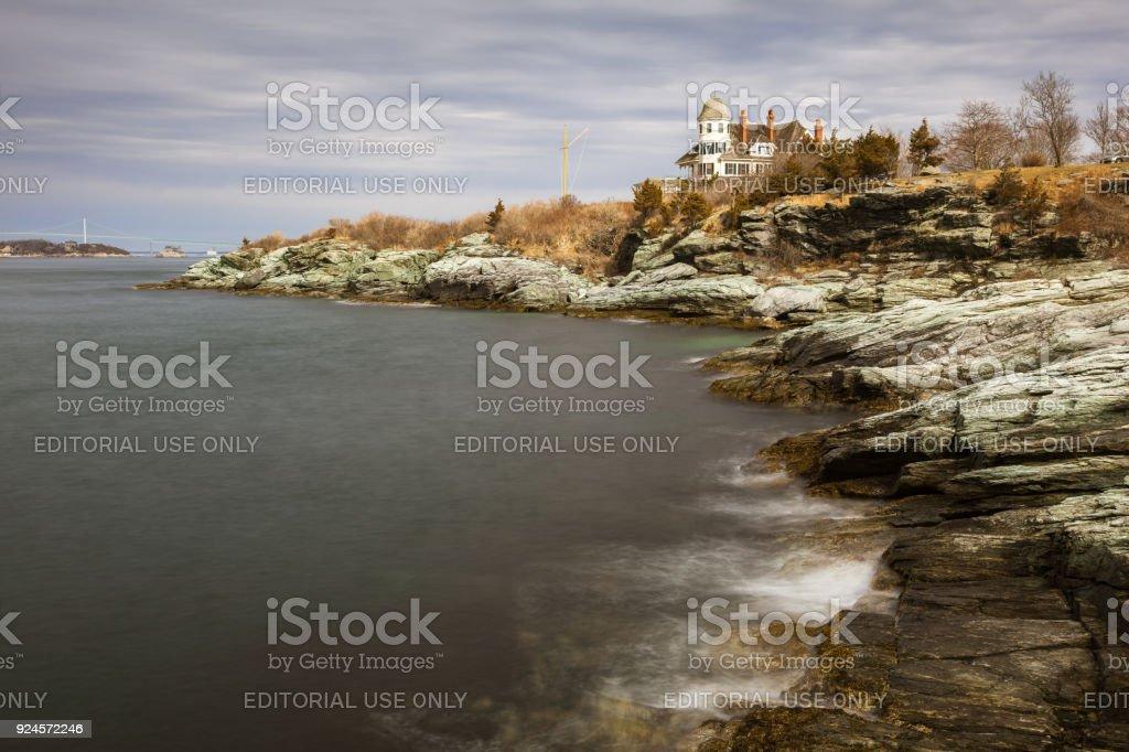 Castle Hill Inn Newport, Rhode Island - foto stock