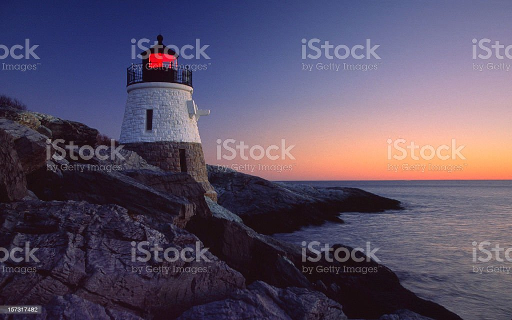 Castle Hill Newport royalty-free stock photo