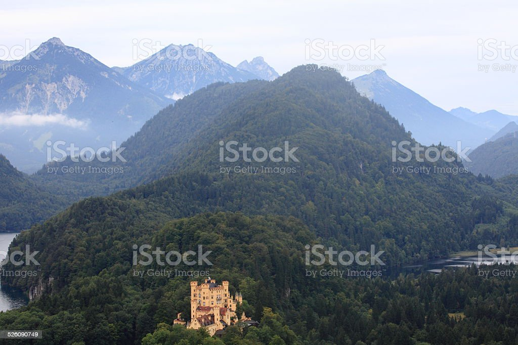 Castle Hohenschwangau 3 Germany stock photo