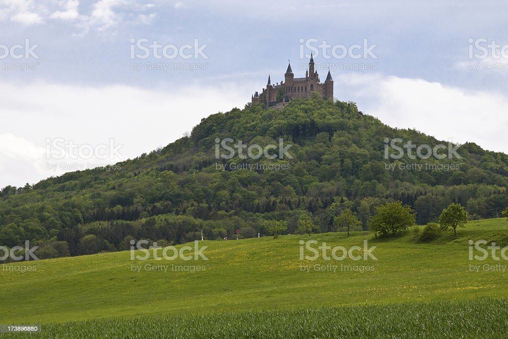 Castle Hohenzollern Black Forest Germany royalty-free stock photo