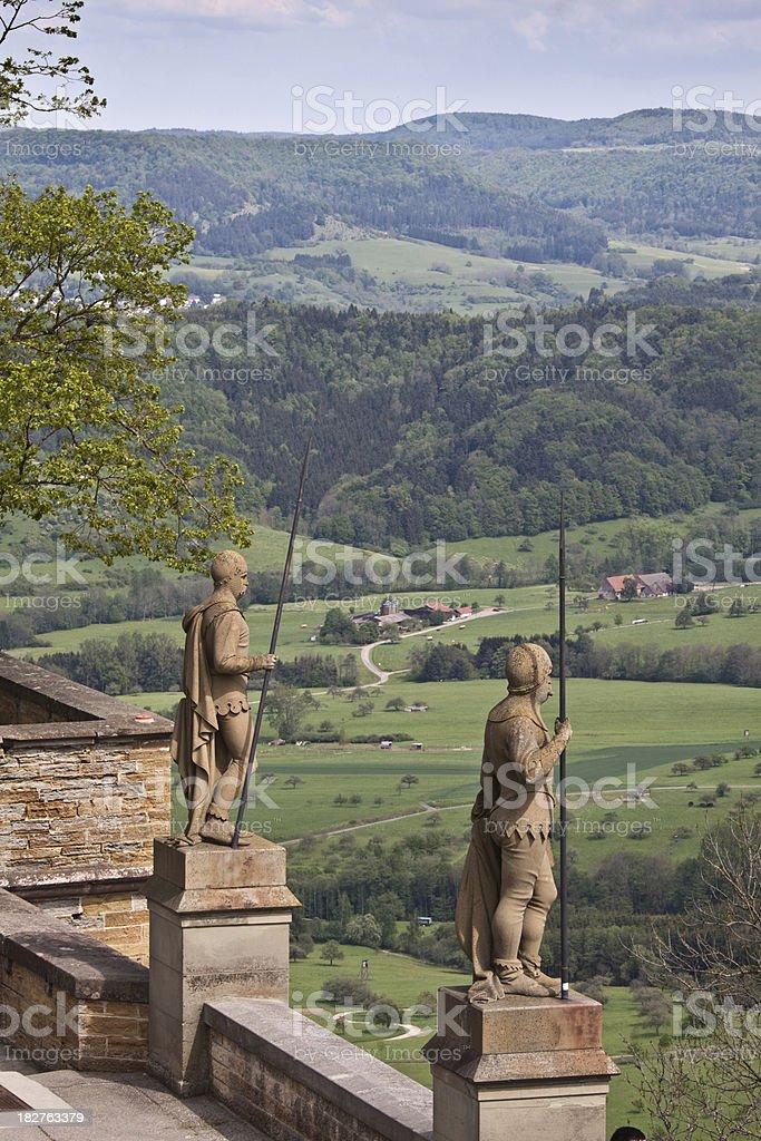 Castle Hohenzollern Black Forest Germany stock photo